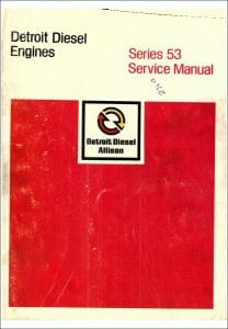 Detroit Diesel Series 53 diesel engine Service Manual