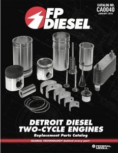 Detroit Diesel Two Cycle Replacement Parts Catalog 2010
