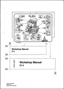 Deutz 914 Diesel Engine Workshop Manual
