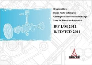 Deutz B:F:L:M 2011 Spare Parts Catalogue