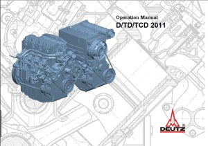 Deutz D Diesel Engine Operation Manual