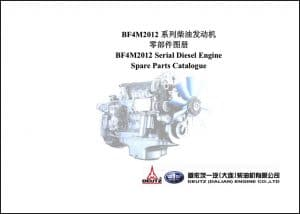 Deutz Dalian BF4M2012 Spare Parts Catalogue