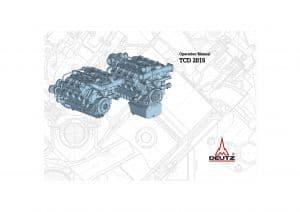 Deutz TCD 2015 diesel engine Operation Manual