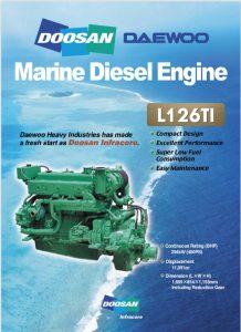 Doosan L126TI diesel engine Brochure