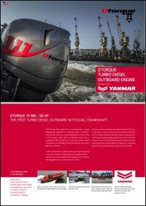 Dtorque Yanmar diesel outboard Brochure