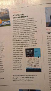 Dutch magazine Nautigue review of Marine Diesel Basics 1