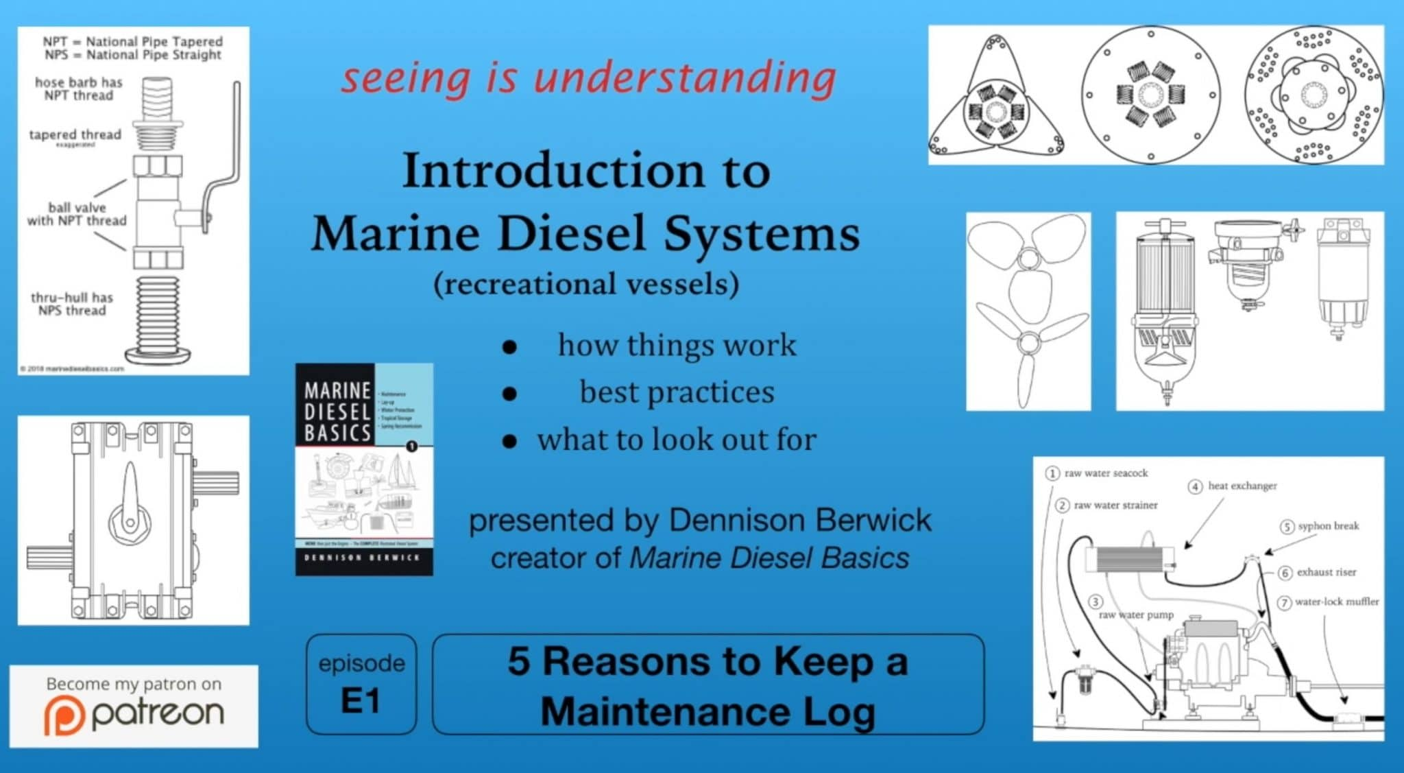 Marine Diesel Maintenance Log video thumbnail