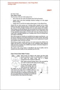 draft Extract #4 from Marine Diesel Basics 2 - Raw Water Pump