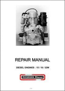 Farymann diesel engine 15 Repair manual
