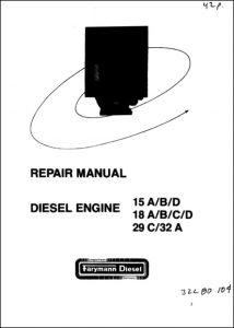 Farymann 15A diesel engine Repair Manual