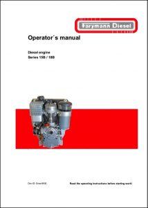 Farymann 15B diesel engine Operator's Manual