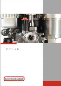 Farymann 15D diesel engine Brochure