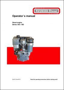 Farymann 15D diesel engine Operator's Manual