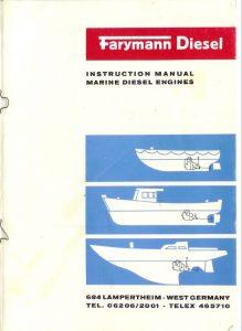 Farymann Diesel Engine Engine A30 Instruction Manual