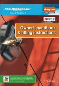 FeatherStream Shaftdrive marine propeller Owner's Handbook and Fitting Instructions