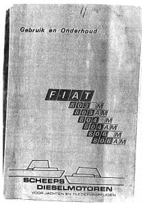 Fiat 803M etc Maintenance Manual in Dutch