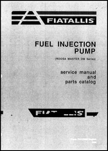 cover of Fiat-Allis R-M DM series Manual