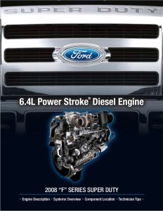 Ford 2008 6.8L F Series Overview