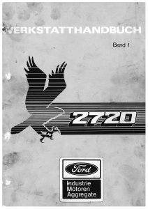 Ford 2720 vol1 Workshop German Werkstatthandbuch
