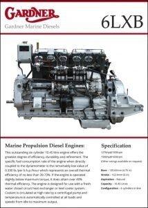 Gardner 6LXB diesel engine Brochure