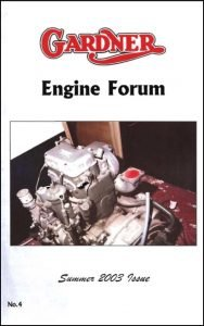 Gardner diesel Engine Forum Newsletter 4