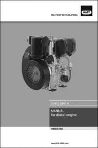 Hatz 2G40 Diesel Engine Operator Manual
