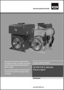 Hatz 2L41C Diesel Engine Operator Manual