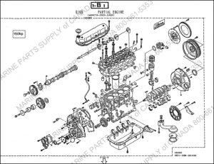 Hino W04 marine diesel engine Parts Drawings