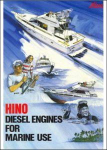 Hino W04D marine diesel engine Brochure