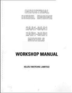 Isuzu 2AB1 Workshop Manual