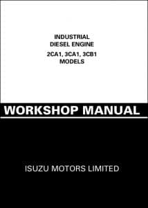 Isuzu Diesel Engine 2CA1 Workshop Manual