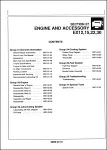 Isuzu Diesel Engine 3KC1 Repair Manual