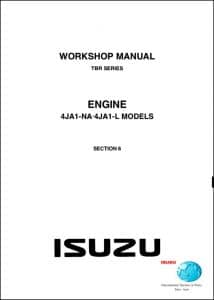 Isuzu diesel Engines 4JA1 Workshop Manual Section 6
