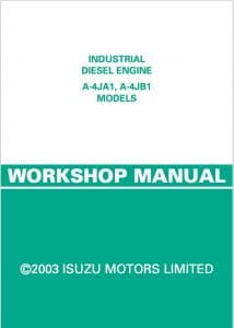 Isuzu-4JA1-and-4JB1 Workshop Manual