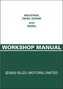 Isuzu 4LE2 Diesel Engine Workshop Manual