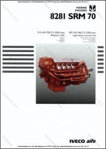 Iveco 8281 SRM 70 marine diesel engine Brochure