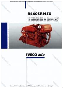 Iveco 8460 SRM50 marine diesel engine Guide