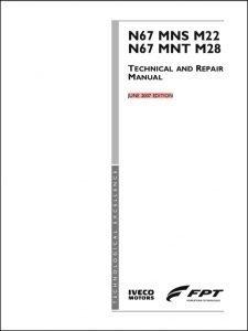 Iveco N67 MNS M22 diesel engine Technical & Repair Manual