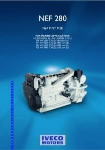 Iveco N67-MNT-M28 diesel engine Technical Booklet