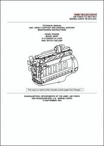 John Deere 6059T diesel engine Technical Manual