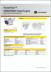 JDeere 6090AFM85 diesel engine Specifications