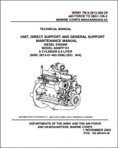 John Deere 6068TF151 diesel egnine Technical Manual