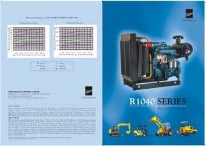 Kirloskar R1040 Series diesel engines Catalogue
