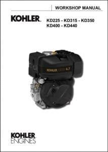 Kohler KD 225 diesel engine Workshop manual
