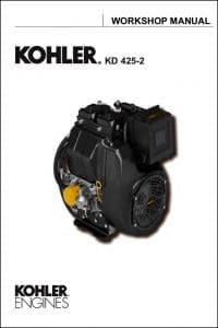 Kohler KD 425-2 diesel engine Workshop Manual