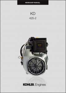 Kohler KD 625-2 diesel engine Workshop Manual