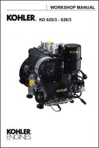 Kohler KD625/3 diesel engine Workshop manual