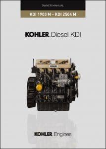 Kohler KDI 1903 M diesel engine Owners Manual