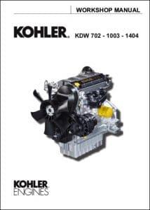 Kohler KDW 702 diesel engine Workshop Manual