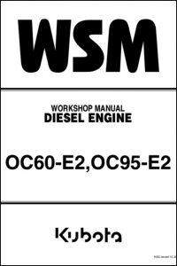 Kubota OC60-E2 diesel engine Workshop manual